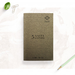 5 year diary / October-December